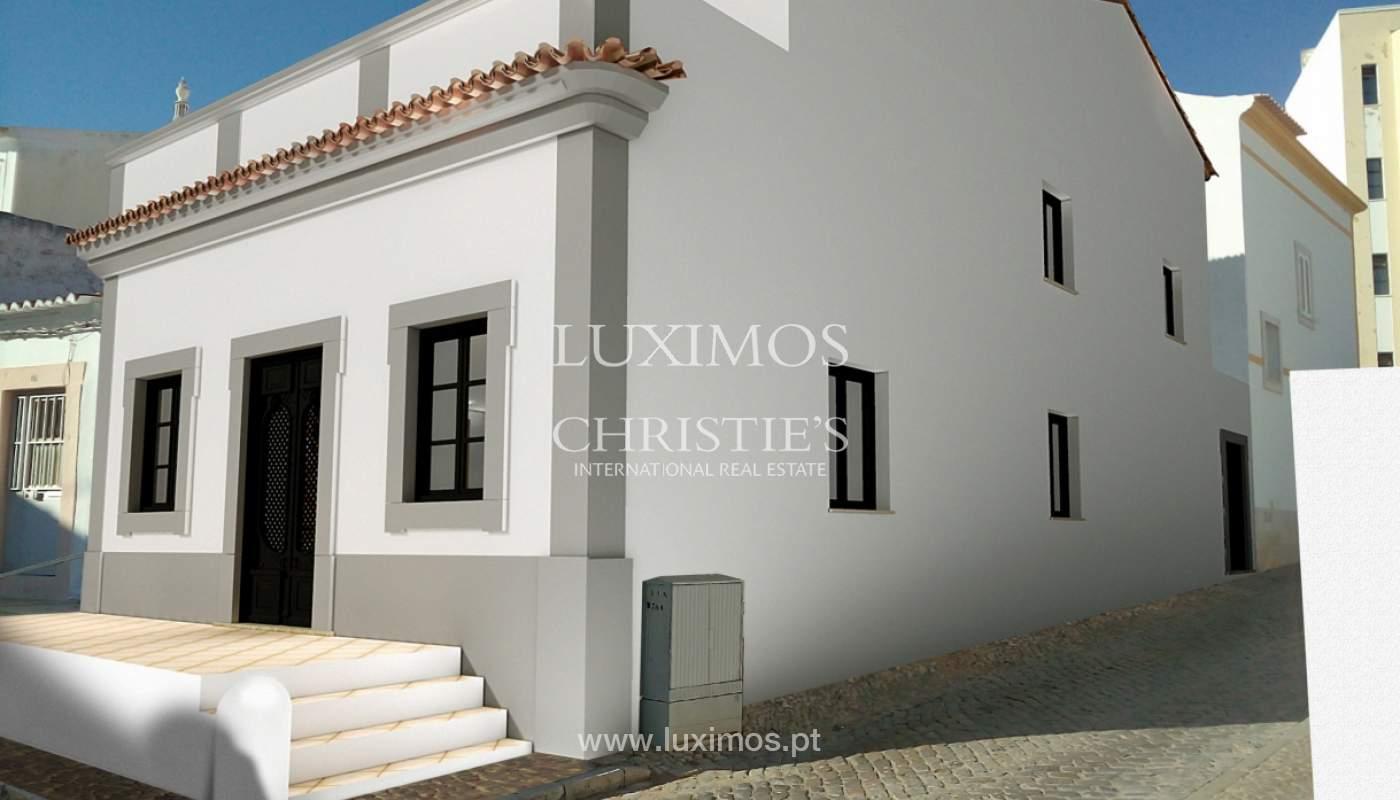 Verkauf der Gebäude in Ruine in Faro, zugelassenes Projekt, Algarve, Portugal_112146