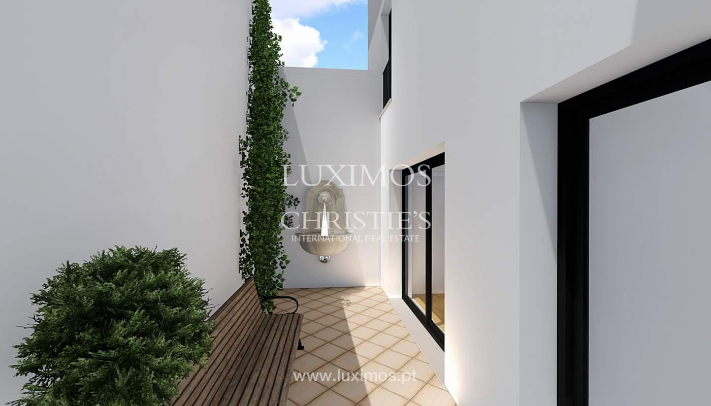 Verkauf der Gebäude in Ruine in Faro, zugelassenes Projekt, Algarve, Portugal_112179