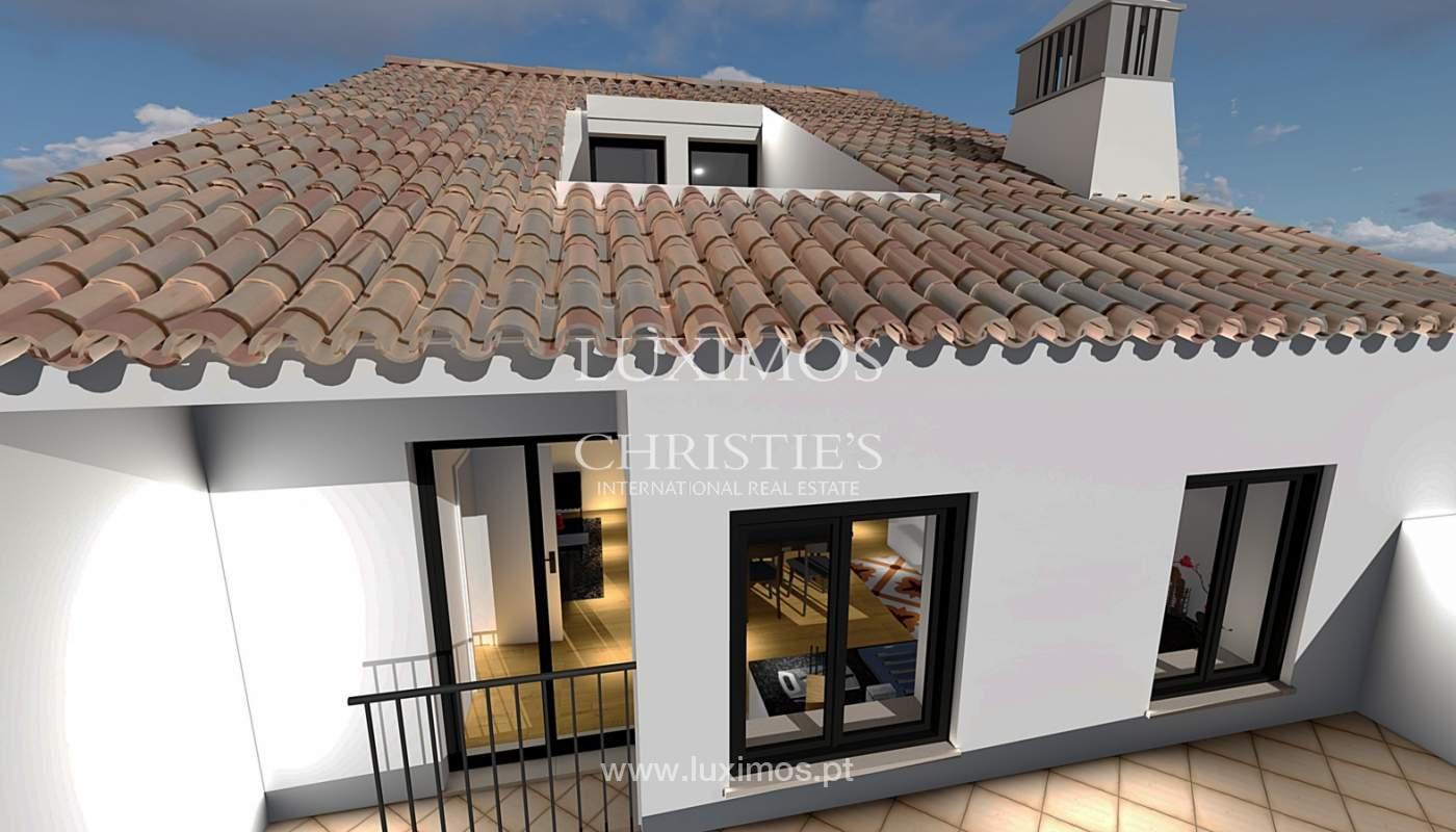 Verkauf der Gebäude in Ruine in Faro, zugelassenes Projekt, Algarve, Portugal_112180