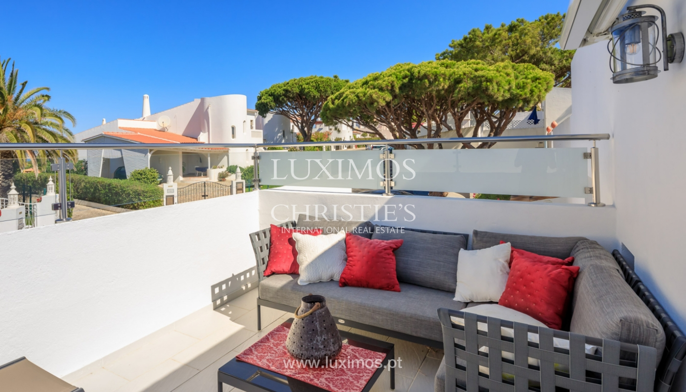 Sale of sea view villa in Vale do Lobo, Algarve, Portugal_113155