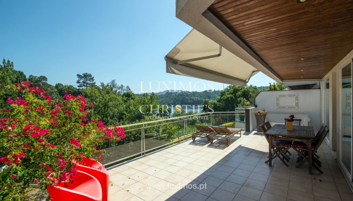 Sale of modern house with views to Douro river, Porto, Portugal_113186