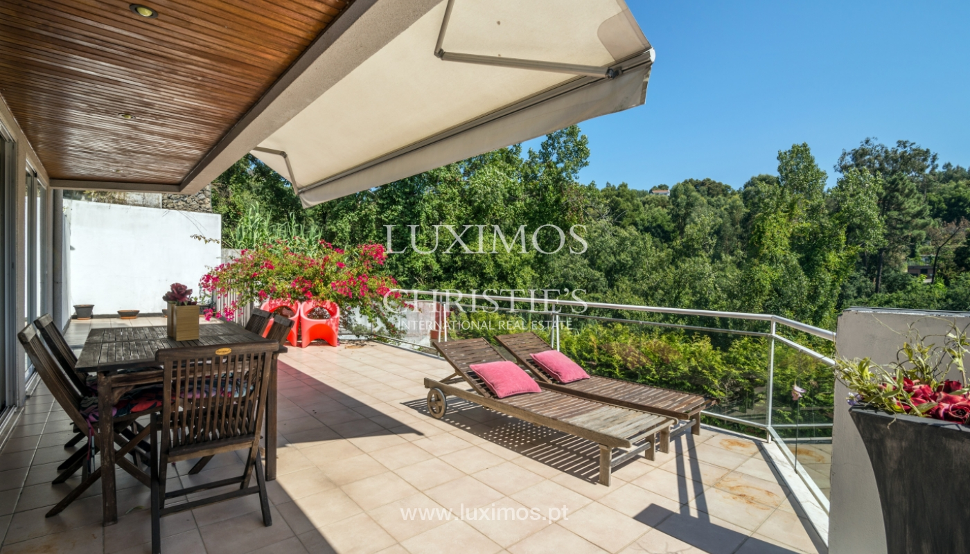 Sale of modern house with views to Douro river, Porto, Portugal_113188