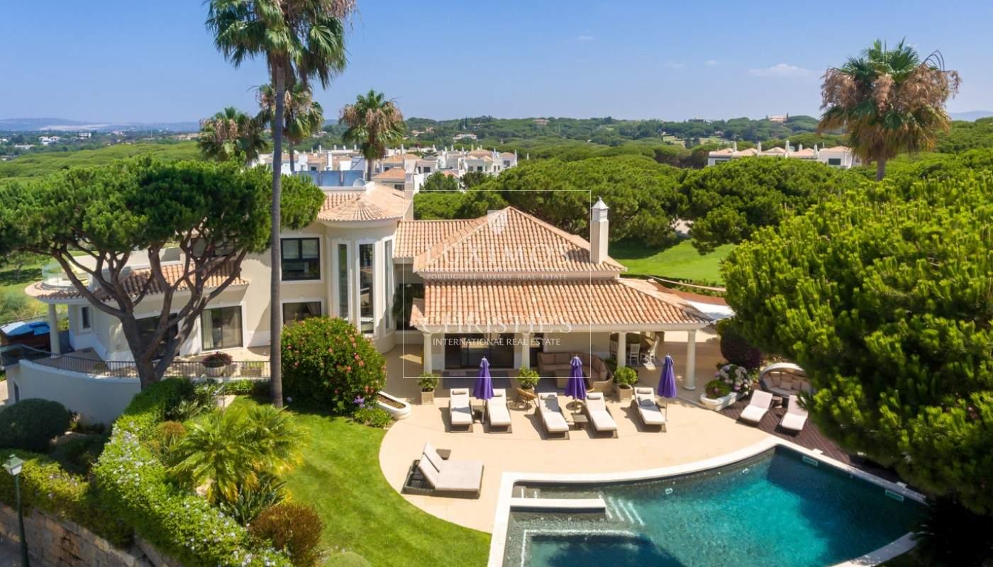 Venda de moradia com vista golfe em Vale do Lobo, Algarve_113214