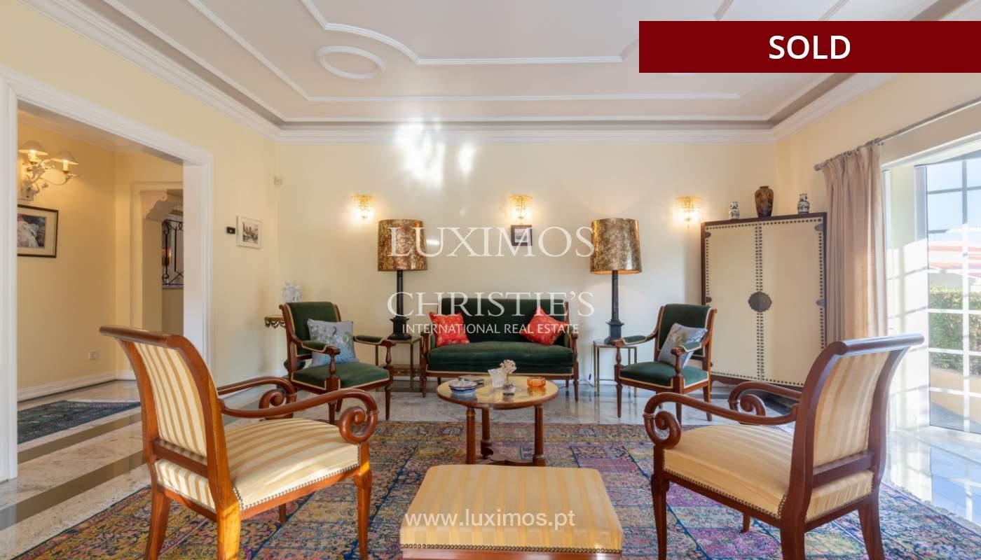 Sale of luxury villa front golf in Vilamoura, Algarve, Portugal_113511
