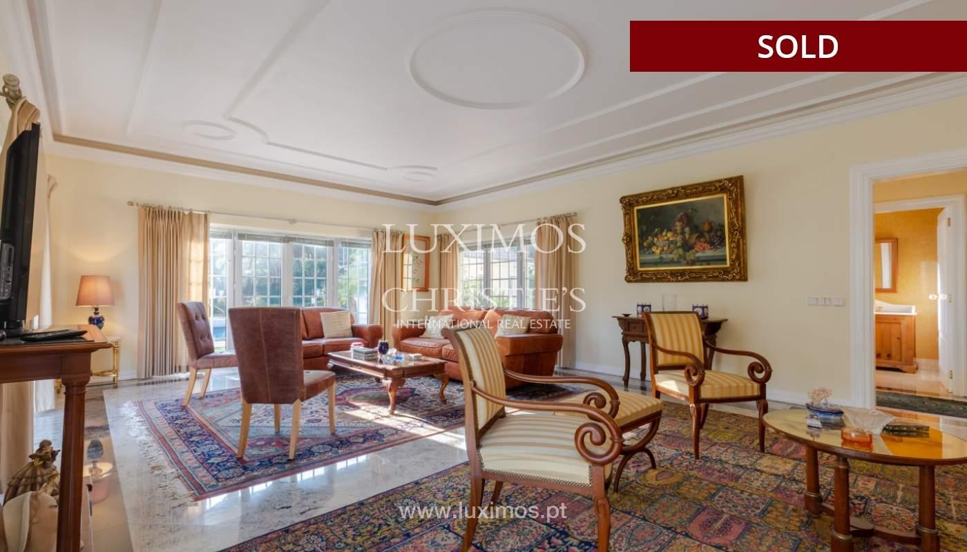 Sale of luxury villa front golf in Vilamoura, Algarve, Portugal_113512