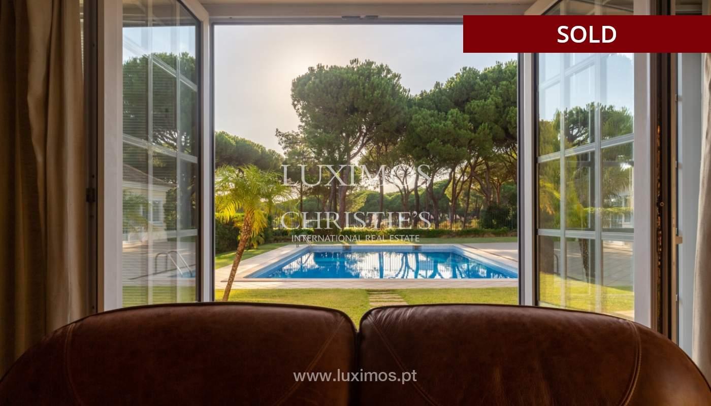 Sale of luxury villa front golf in Vilamoura, Algarve, Portugal_113513