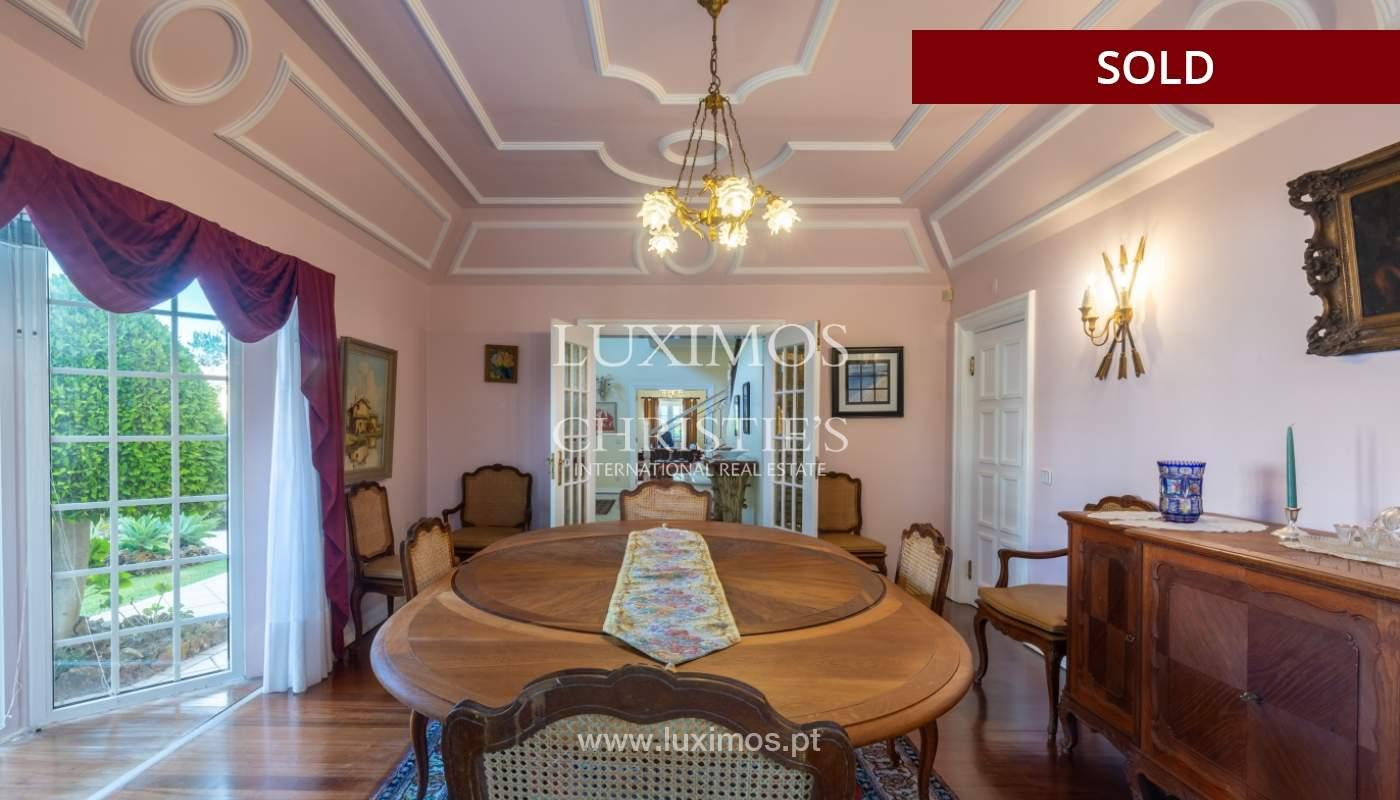 Sale of luxury villa front golf in Vilamoura, Algarve, Portugal_113514