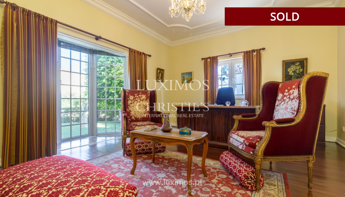 Sale of luxury villa front golf in Vilamoura, Algarve, Portugal_113515