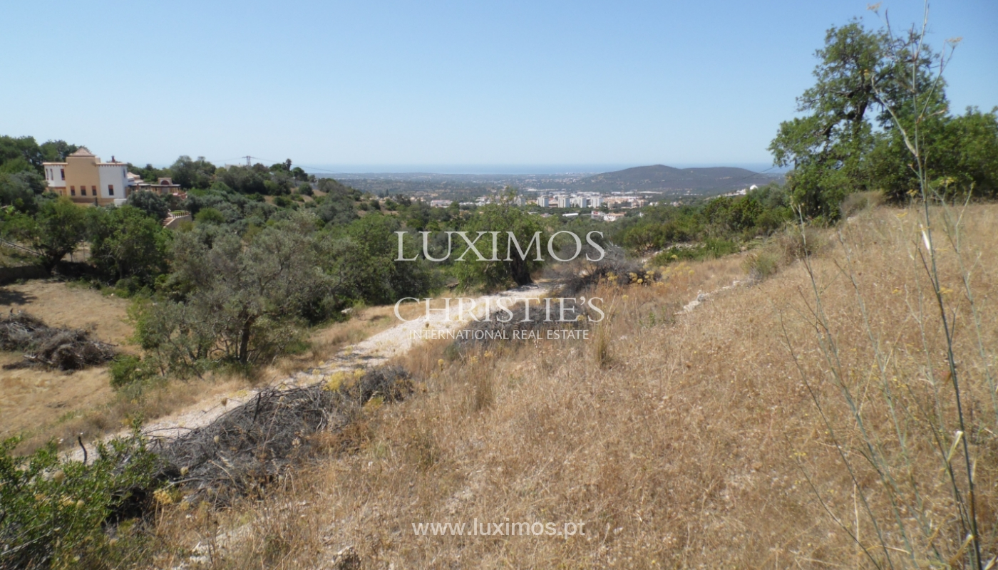 Ocean view land for construction of  a villa-Loulé_113750