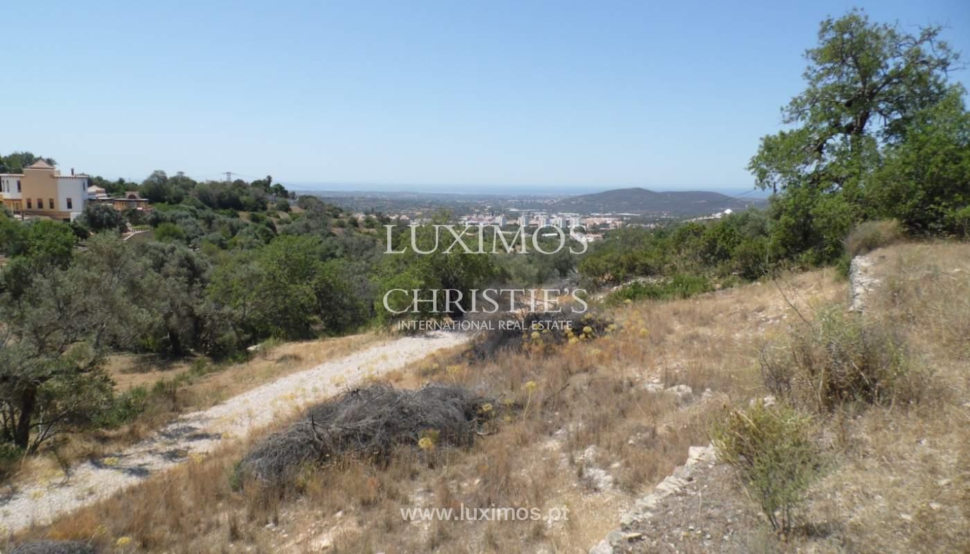 Ocean view land for construction of  a villa-Loulé_113758