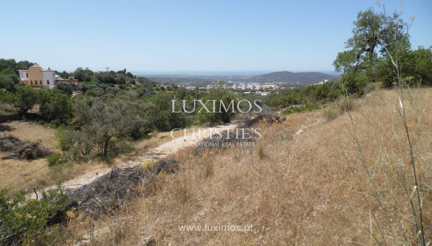 Terrain avec vue sur la mer, pour la construction de une villa-Loulé_113759