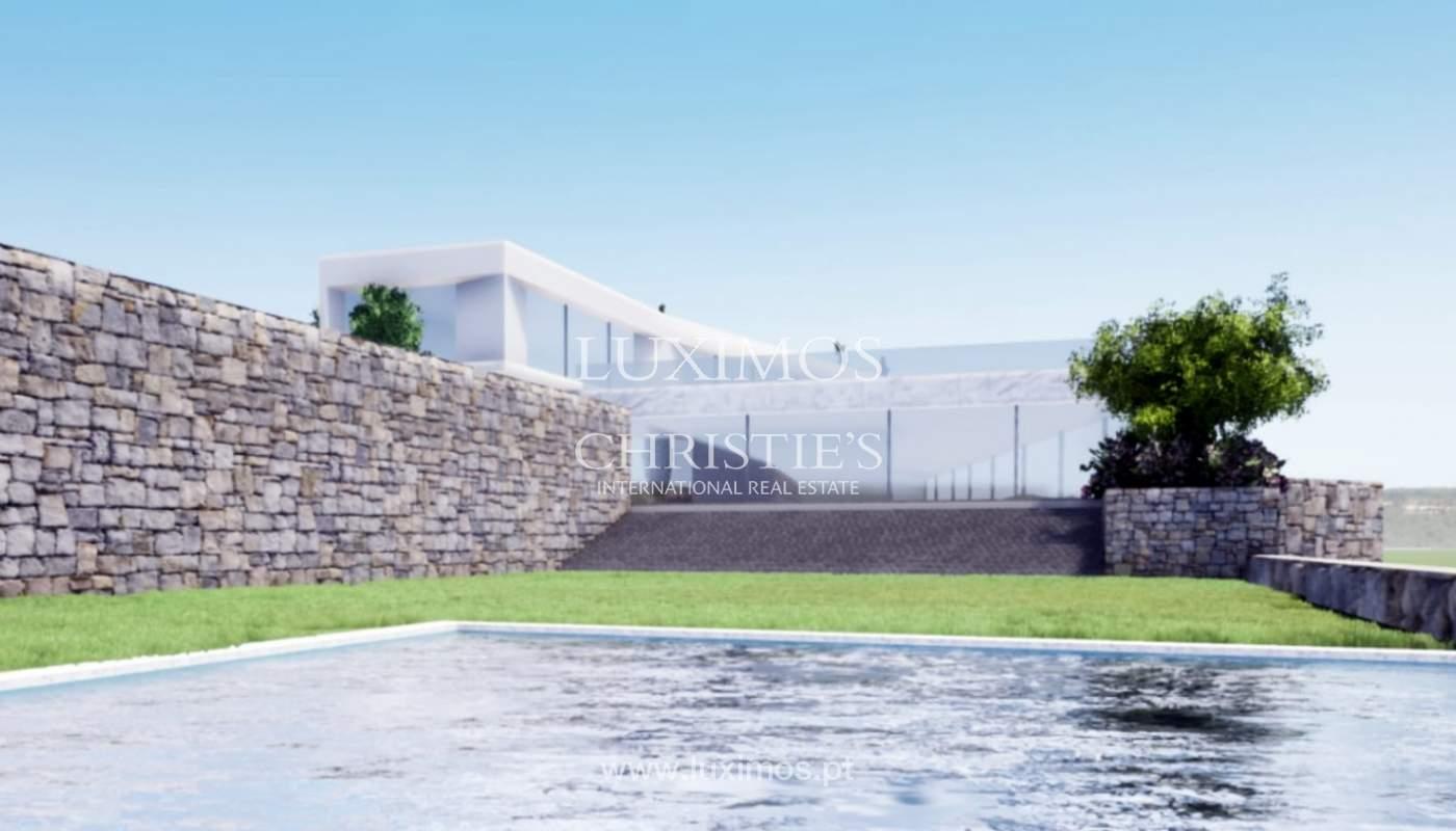 Terrain avec vue sur la mer, pour la construction de une villa-Loulé_113763