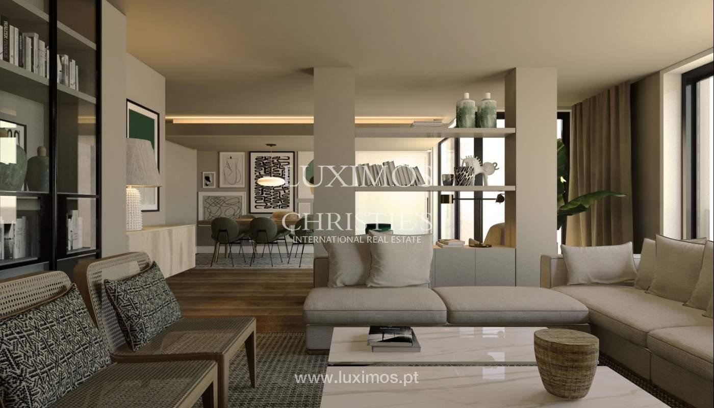 Venda de novo apartamento de luxo, com varanda, na Foz do Douro, Porto_113819
