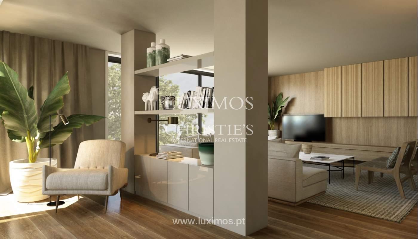 Venda de novo apartamento de luxo, com varanda, na Foz do Douro, Porto_113821