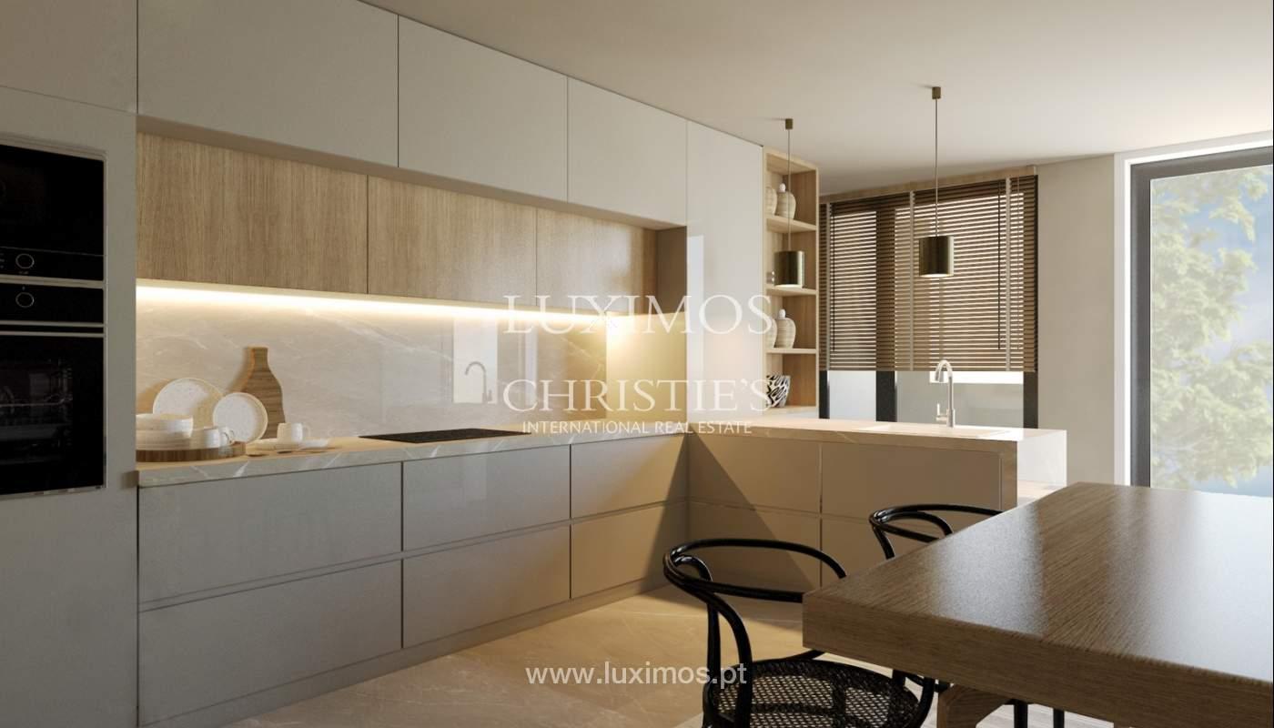 Venda de novo apartamento de luxo, com varanda, na Foz do Douro, Porto_113822