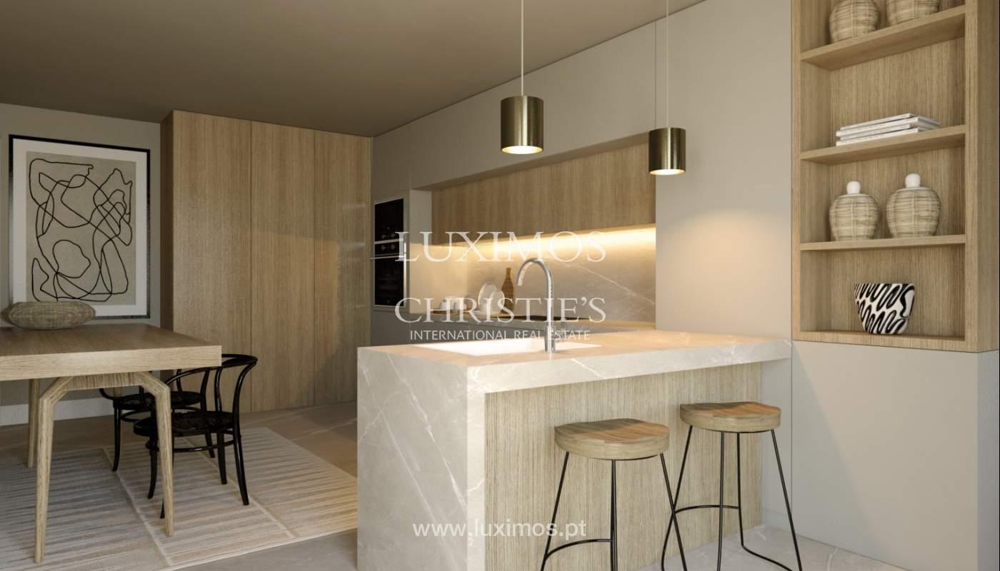 Venda de novo apartamento de luxo, com varanda, na Foz do Douro, Porto_113823