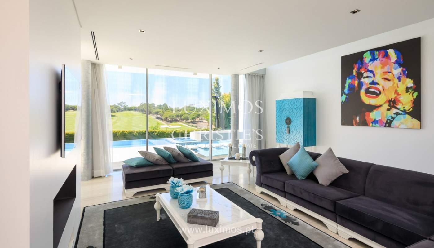 Venta de vivienda moderna vista golf, Vale do Lobo, Algarve, Portugal_113893