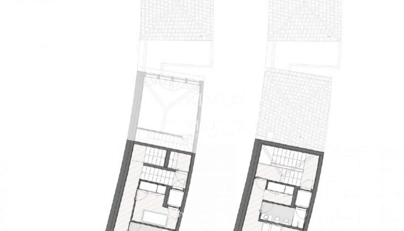 Verkauf einer neuen Triplex-Wohnung in zentraler Lage der Innenstadt von Porto, Portugal_113923
