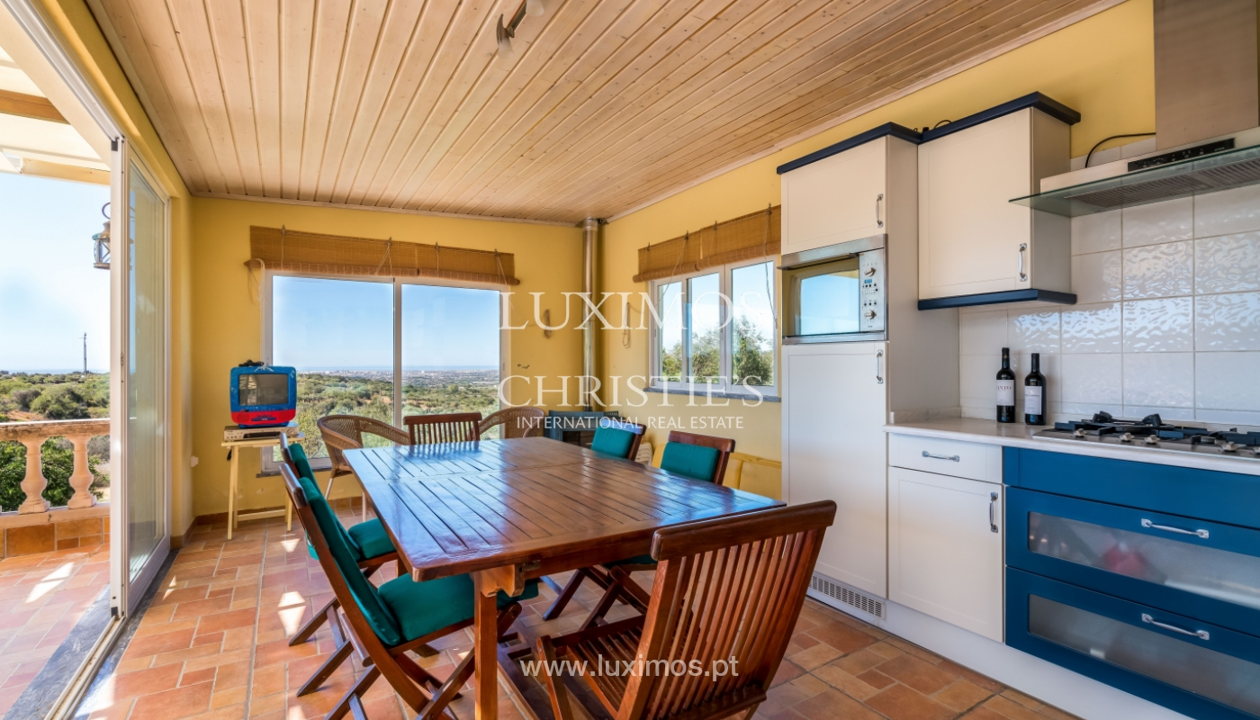 Venda de moradia com vista serra e mar em Estoi, Faro, Algarve_114278