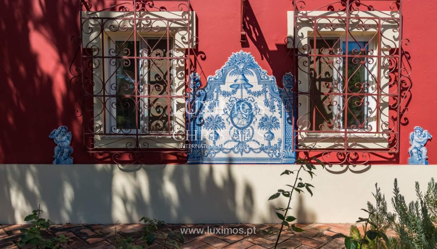 Venda de moradia com vista serra e mar em Estoi, Faro, Algarve_114303