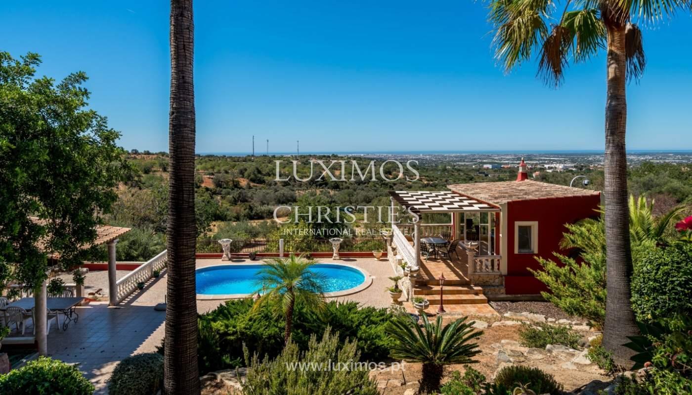 Venda de moradia com vista serra e mar em Estoi, Faro, Algarve_114304