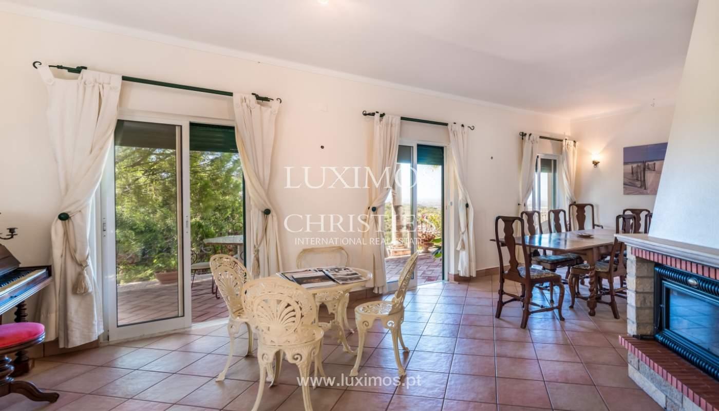 Venda de moradia com vista serra e mar em Estoi, Faro, Algarve_114311