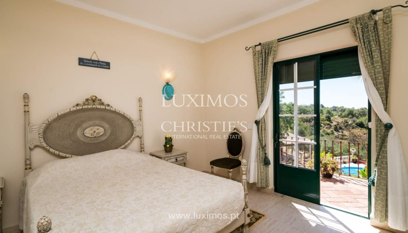 Venda de moradia com vista serra e mar em Estoi, Faro, Algarve_114314