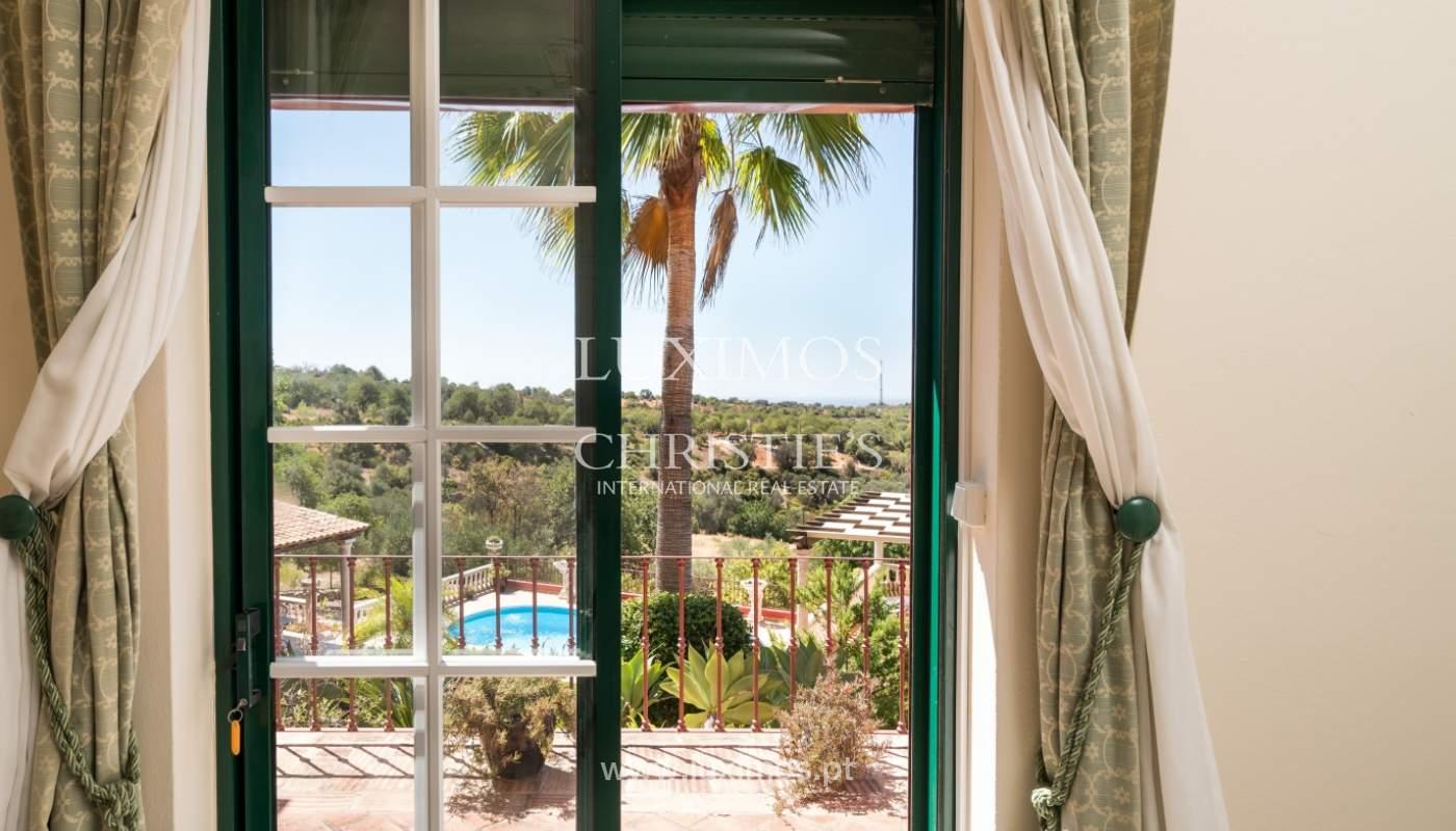 Venda de moradia com vista serra e mar em Estoi, Faro, Algarve_114317