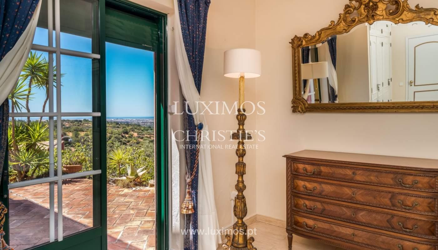 Venda de moradia com vista serra e mar em Estoi, Faro, Algarve_114321