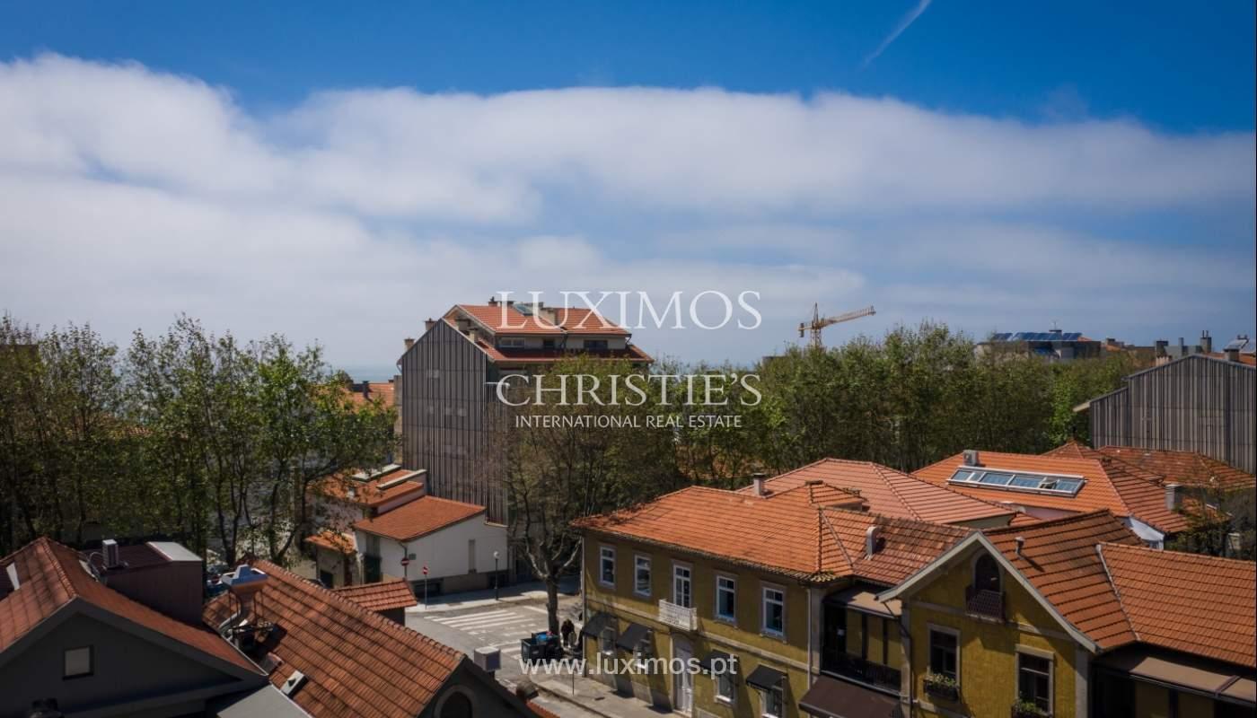Venda de novo apartamento de luxo, com varanda, na Foz do Douro, Porto_114327