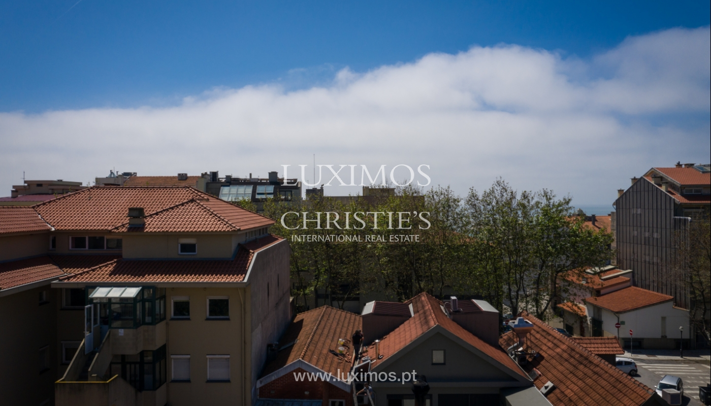 Venda de novo apartamento de luxo, com varanda, na Foz do Douro, Porto_114328
