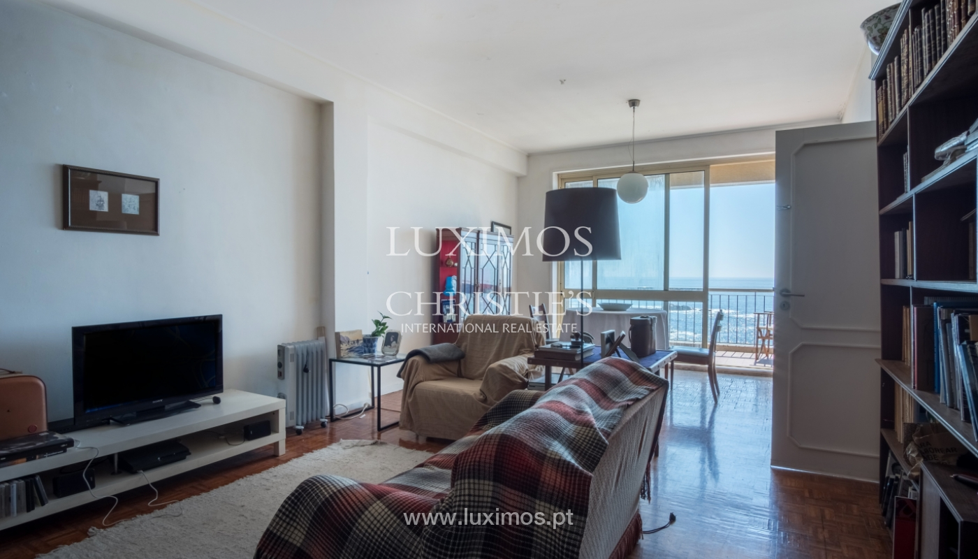 Sale of penthouse, with open views to the sea, Foz, Porto, Portugal_114382
