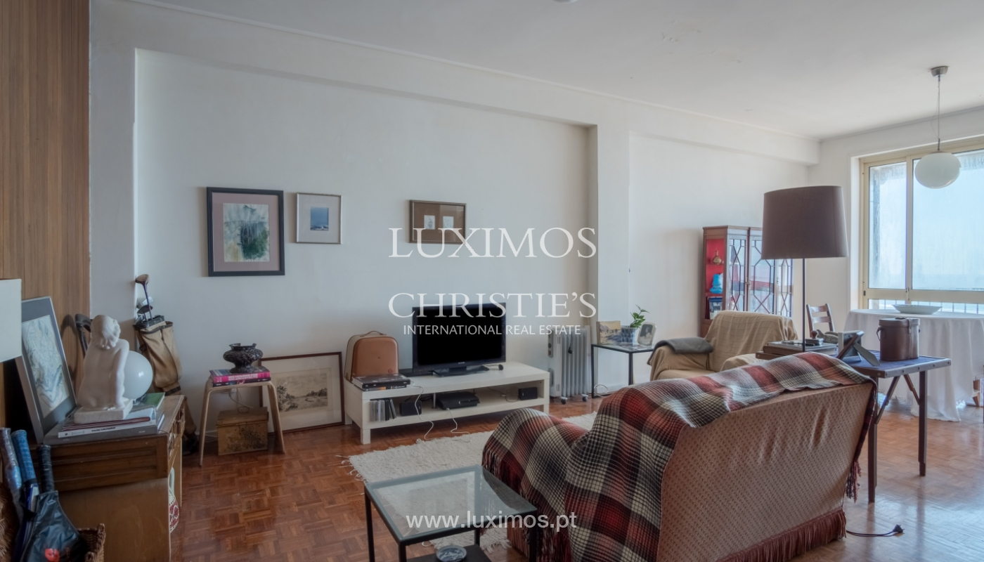 Sale of penthouse, with open views to the sea, Foz, Porto, Portugal_114385