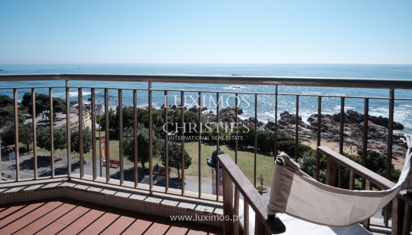 Sale of penthouse, with open views to the sea, Foz, Porto, Portugal_114390