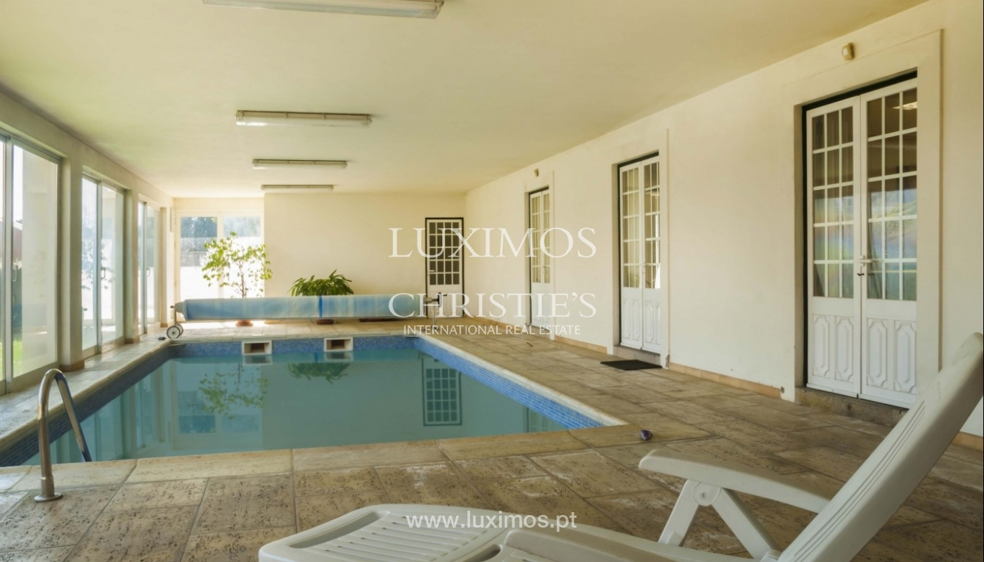 Detached villa with indoor swimming pool, Vila Real, Portugal_11555