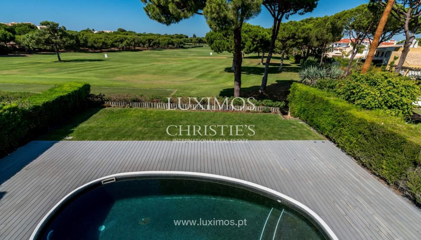 Venda de moradia com piscina, frente golfe em Vilamoura, Algarve_116072