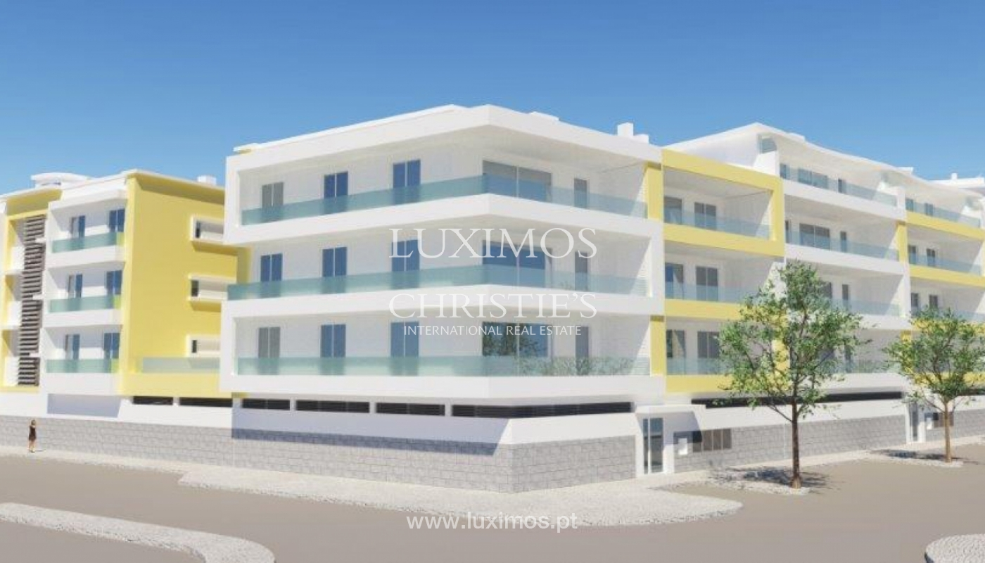 Sale of modern new apartment with sea view in Lagos, Algarve, Portugal_116195