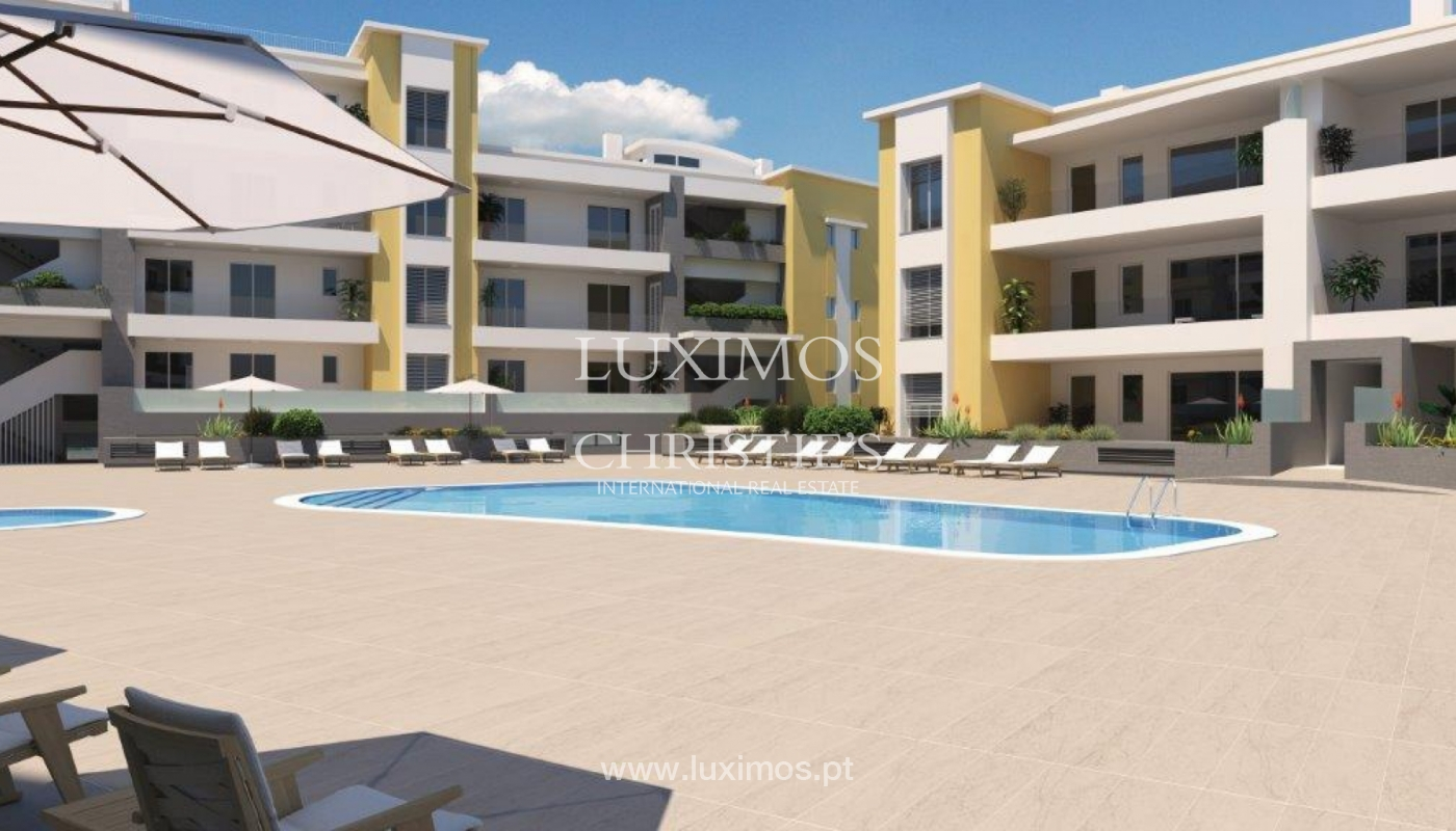 Sale of modern new apartment with sea view in Lagos, Algarve, Portugal_116386