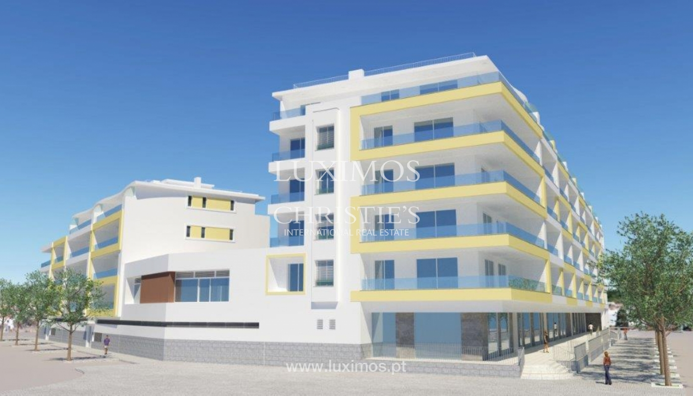 Sale of modern new apartment with sea view in Lagos, Algarve, Portugal_116447
