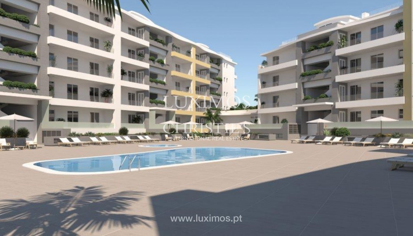 Sale of modern new apartment with sea view in Lagos, Algarve, Portugal_117097
