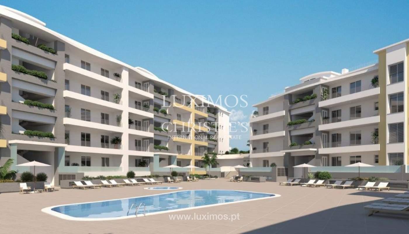 Venta de apartamento moderno con vista mar en Lagos, Algarve, Portugal_117311