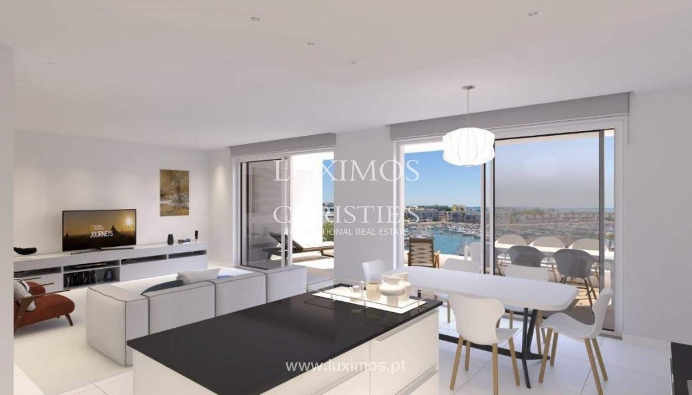 Venta de apartamento moderno con vista mar en Lagos, Algarve, Portugal_117314