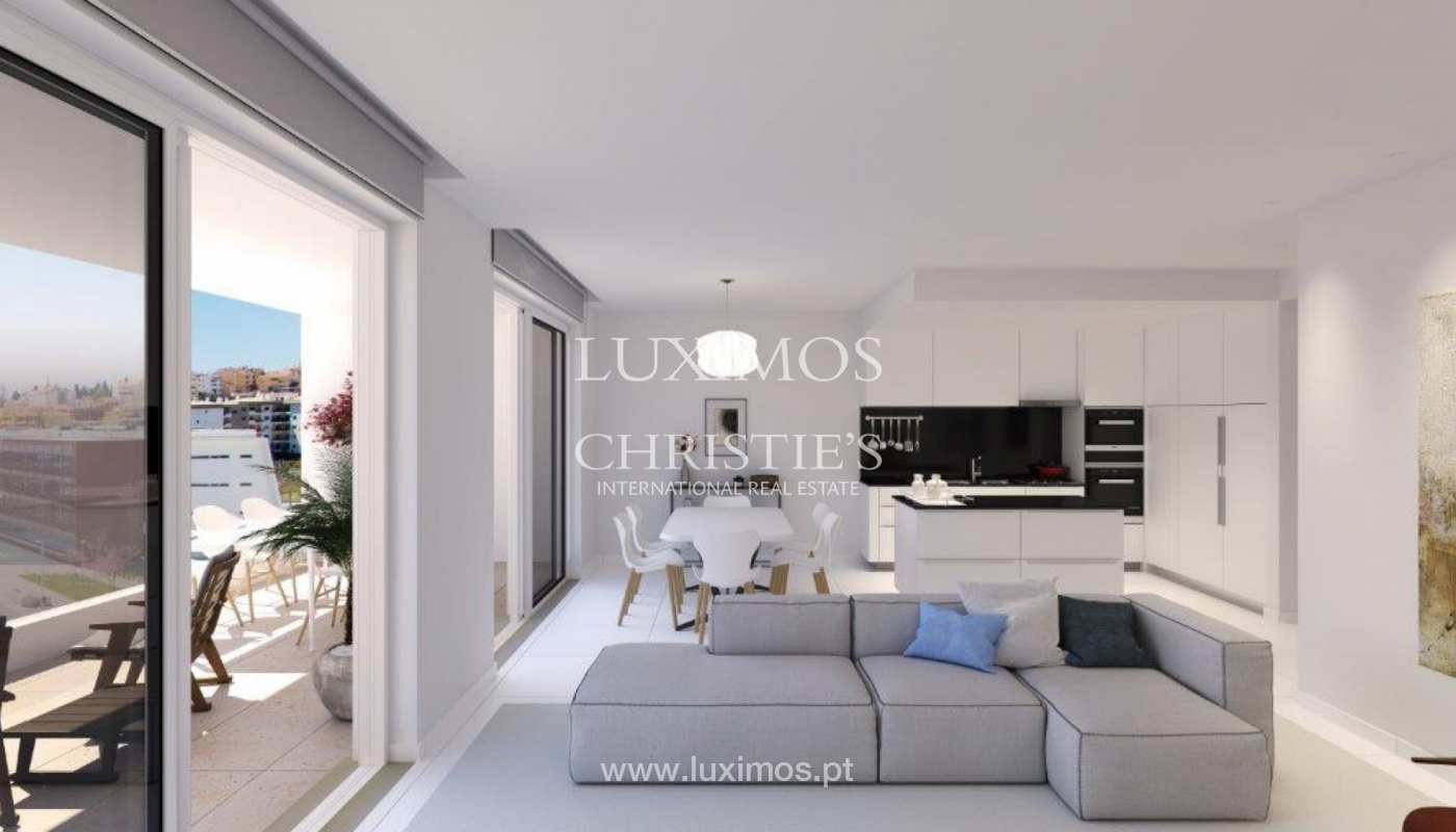Sale of modern new apartment with sea view in Lagos, Algarve, Portugal_117396