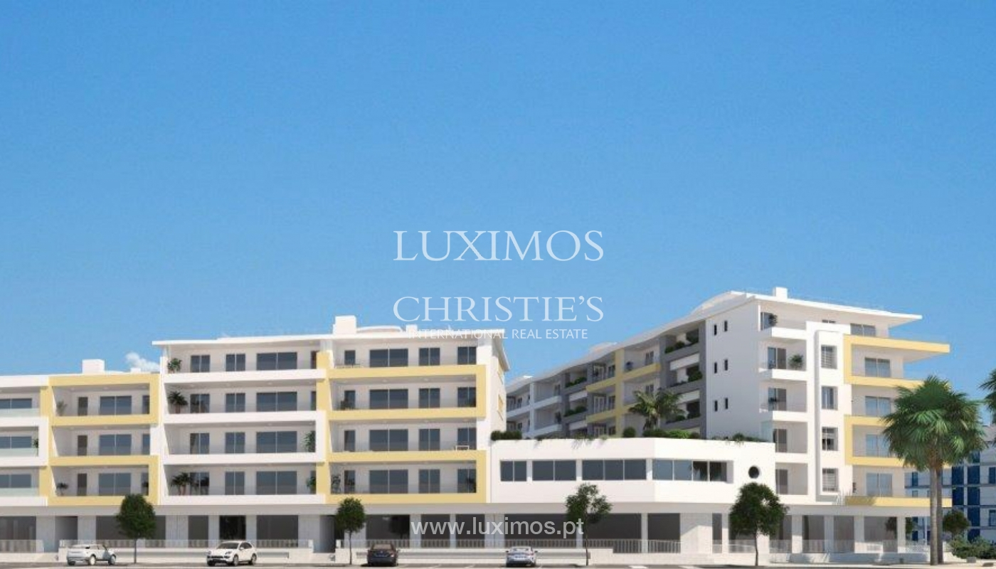 Sale of modern new apartment with sea view in Lagos, Algarve, Portugal_117398