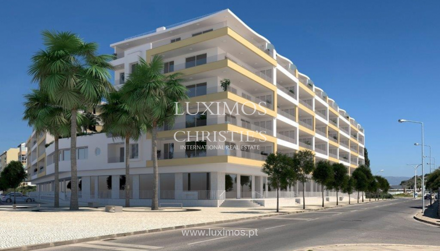 Sale of modern new apartment with sea view in Lagos, Algarve, Portugal_117401
