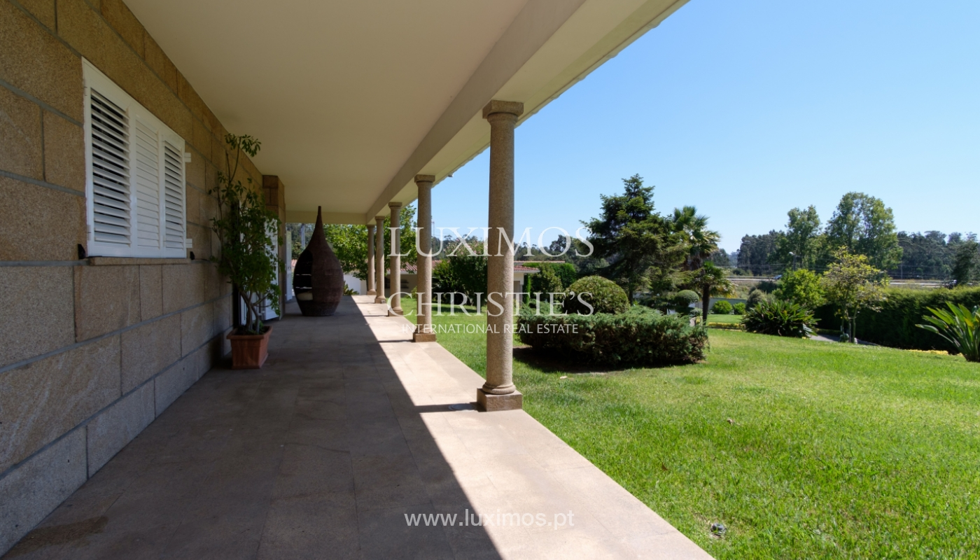 Luxury villa for sale w/ pool and playground, Póvoa Varzim, Portugal_117421