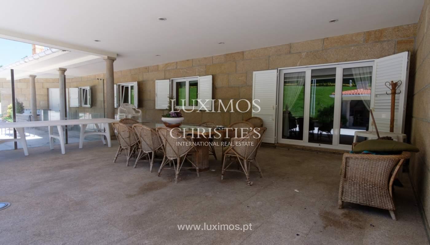 Luxuriöse Villa zu verkaufen mit Pool und Spielplatz, Póvoa Varzim, Portugal_117422
