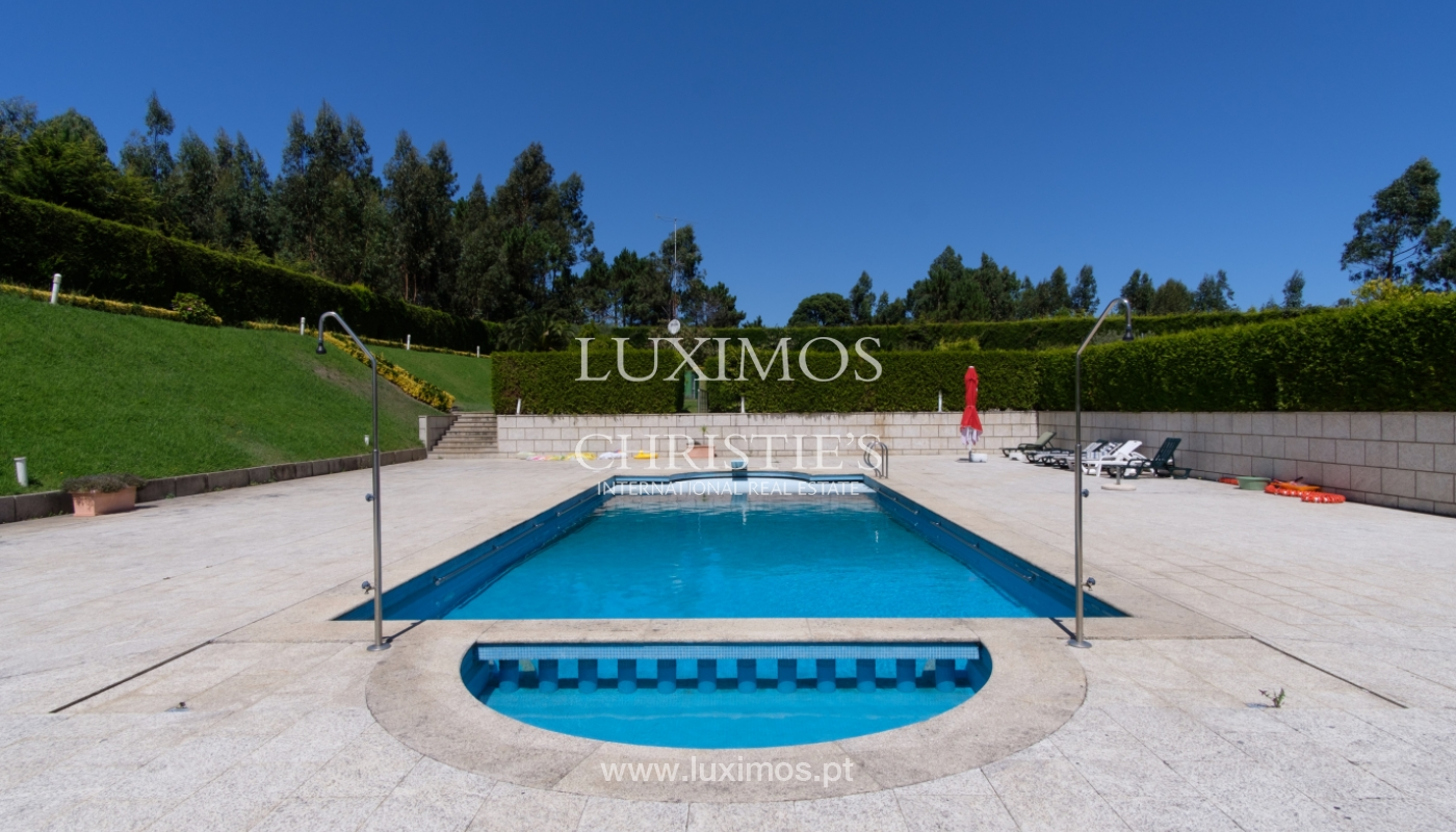 Luxury villa for sale w/ pool and playground, Póvoa Varzim, Portugal_117425