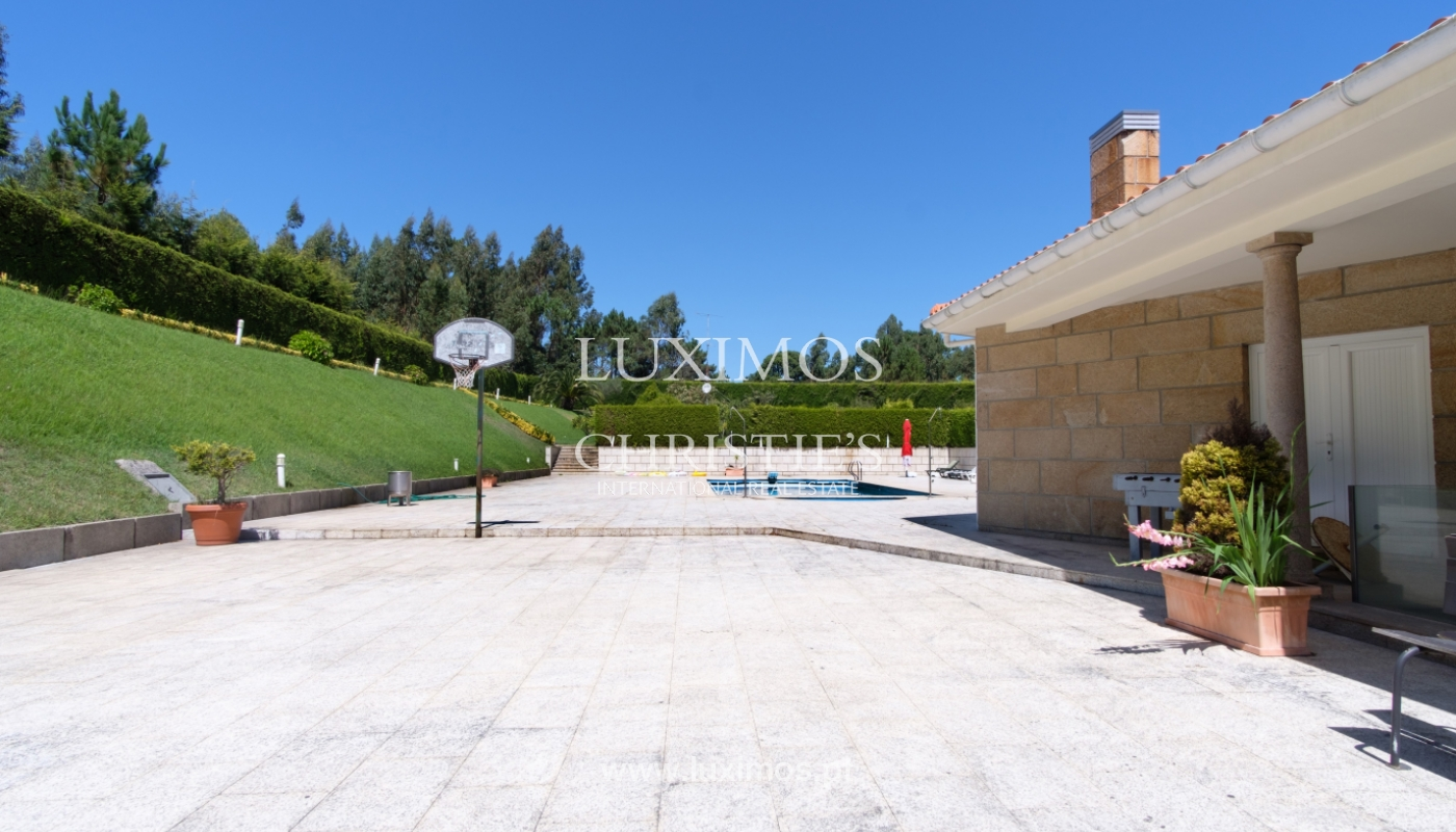 Luxury villa for sale w/ pool and playground, Póvoa Varzim, Portugal_117426