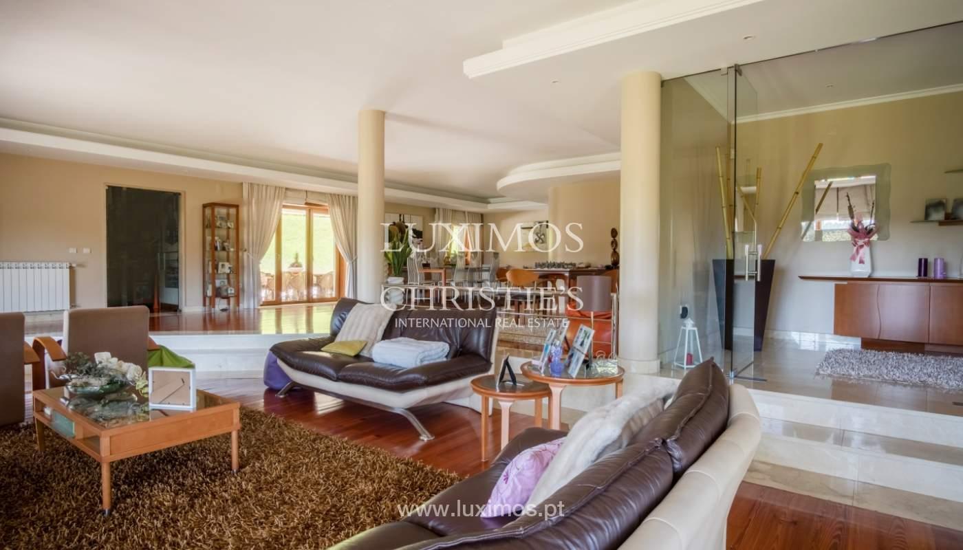 Luxuriöse Villa zu verkaufen mit Pool und Spielplatz, Póvoa Varzim, Portugal_117431
